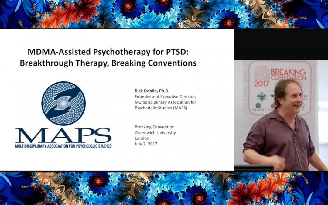 Rick Doblin – Latest Developments In Psychedelic Research